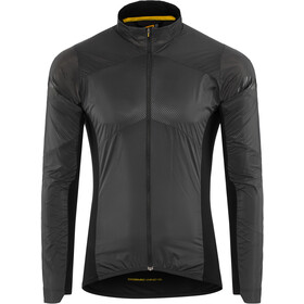 Mavic Cosmic Wind Midlayer Jas Heren, black/pirate black